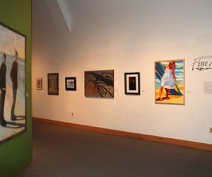 The 2010 Statewide Exhibit at the Ella Sharp Museum in Jackson, MI