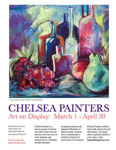 """Chelsea Painters Exhibit """"Downtown"""""""