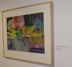 """Running Through Beckwith Land"", watercolor by Nancy Feldkamp"