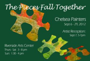 The Pieces Fall Together Postcard