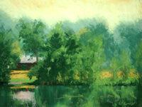 Summer Park Pond | Carolyn Weins