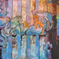 Resting in Stripes | Nancy Feldkamp