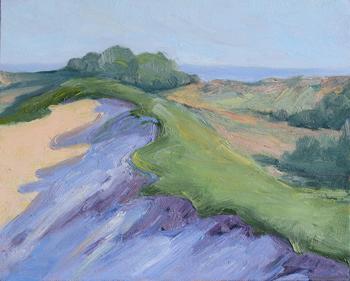 Purple Dunes | Oil