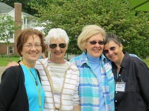 Gals at the Art Fair