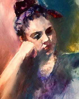 Georgia | Watercolor | Kathy Hiner