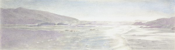 walker-low-sun-at-the-oregon-coast-silverpoint