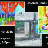 Colored Pencil Exhibit