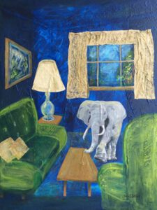 Elephant in the Room | Janice Botsford