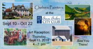 Ann Arbor City Club Exhibit