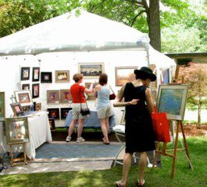 Art Fair Visitor