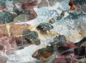 Sea Spray | Watercolor | Barb Gilbert