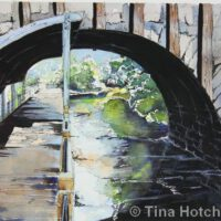 Dexter Bridge | Mixed Media | Tina Hotchkiss