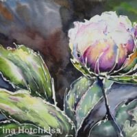 Flower Glow | Mixed Media | Tina Hotchkiss