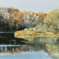 Huron Reflections | Watercolor | Lois Lovejoy