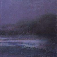Midnight Ice | Pastel | Lois Lovejoy