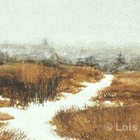 Winter Walk | Watercolor | Lois Lovejoy
