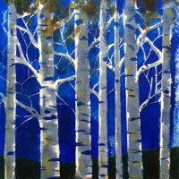 Birches | Acrylic | Janice Botsford