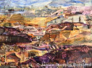 Far Afield | Collage & Mixed Media | Janice Botsford