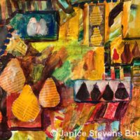 Fruit Market | Mixed | Janice Botsford