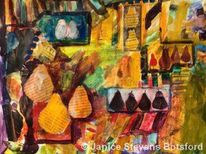 Fruit Market | Mixed | Janice Botsford