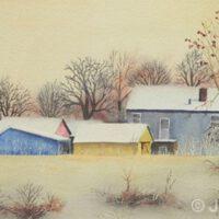 Wisconsin Gold | Watercolor | James Clark