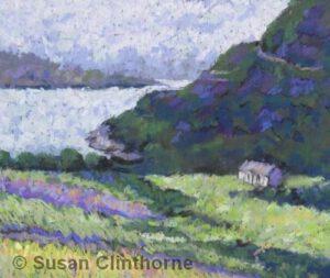 Fields of Heather | Pastel | Susan Clinthorne