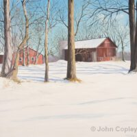 Vreeland Rd Farm | Oil | John Copley