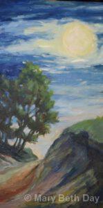 Dune Moon | Oil | Mary Beth Day