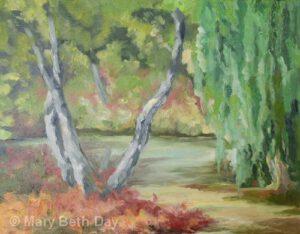 Hidden Lakes Gardens | Oil | Mary Beth Day