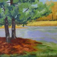 Manchester Pond | Oil | Mary Beth Day