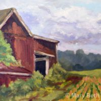 Watching the Crops Grow | Oil | Mary Beth Day