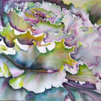 Art Prize Kale | Watercolor | Carol Evert