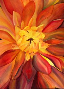 Mum Series 3 | Watercolor | Carol Evert