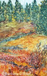 Mountain Autumn | Watercolor | Barb Gilbert