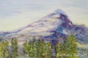 Mountain Majesty | Watercolor | Barb Gilbert