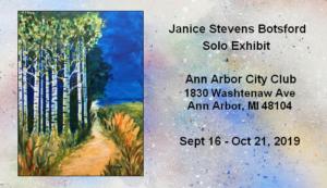 Janice Stevens Botsford Solo Show