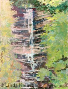Beautiful Spray Made by Nature | Pastel | Linda Klenczar