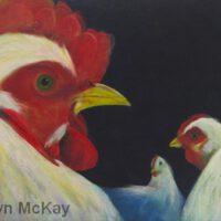 She Said He Said | Mixed Media | Gwyn McKay