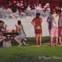 Picnic at North Lake | Gouche | Toni Stevenson