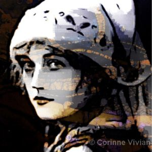 Dutch Girl | Mixed Media | Corinne Vivian