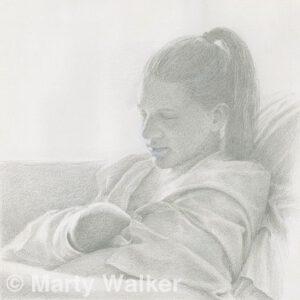 Forever True | Silverpoint | Marty Walker