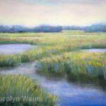 Glowing Marsh by CArolyn Weins