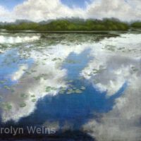 Cloud Reflections | Pastels | Carolyn Weins