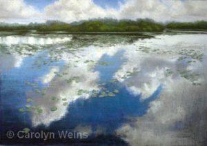 Cloud Reflections | Pastels | Carolyn Weins