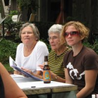 Joyce G, Madeleine V, Mary T