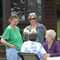 Gwyn M, Joyce G, Corinne V, Jane F.