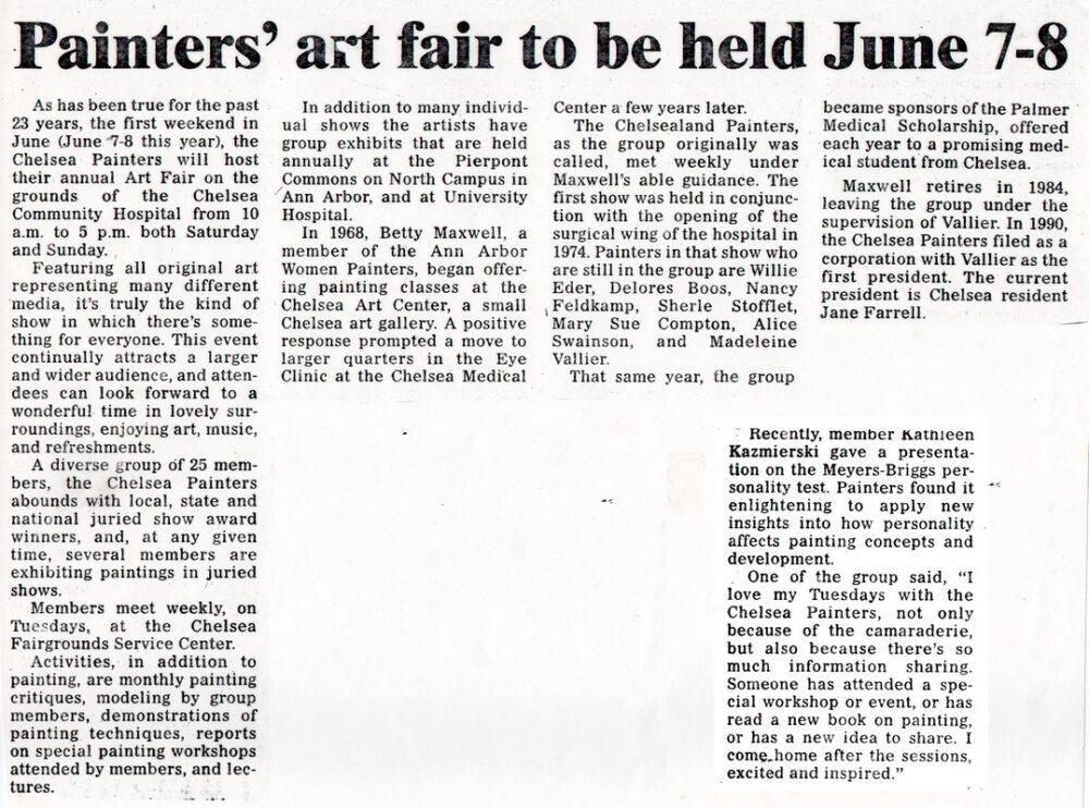 Art Fair 1997
