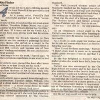 Jane Farrel Article about Exhibit