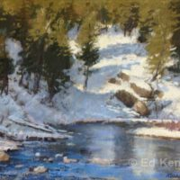 Early Thaw | Pastel | Ed Kennedy