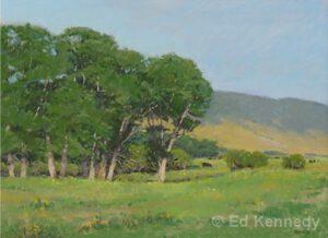 Western Pastures | Pastel | Ed Kennedy
